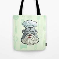 chef Tote Bags featuring Chef by Keyspice