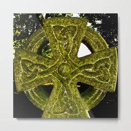Celtic Cross Metal Print