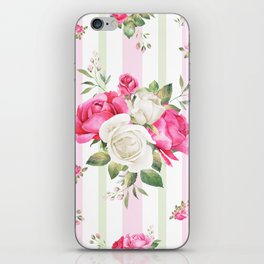 Belle époque flower power iPhone Skin