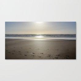 Watergate Bay - Setting Sun Canvas Print