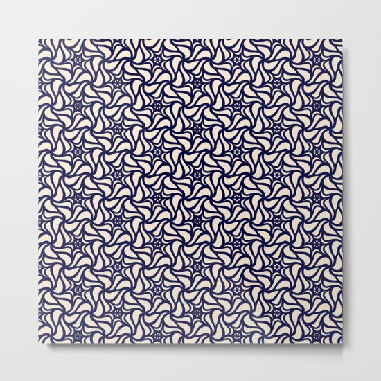 Pattern flower 4 Metal Print