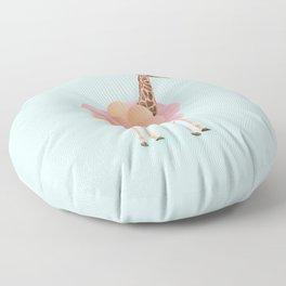 GIRAFFE PARTY Floor Pillow
