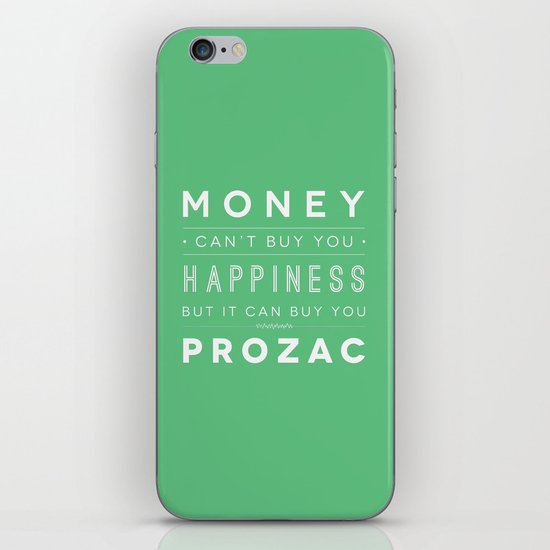 Prozac Nation iPhone & iPod Skin