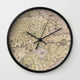 Rough Terrain Wall Clock