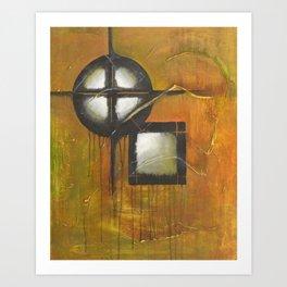 Celtic Abstract Art Print