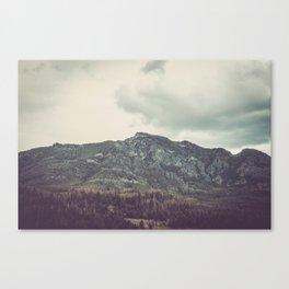 The Mountains of Montana Canvas Print
