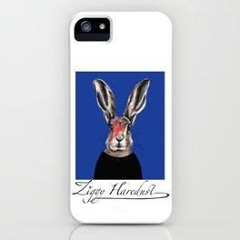 Ziggy Haredust cute starman hare bunny rabbit iPhone Case