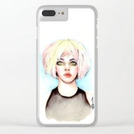 Camren Bicondova (Gotham fanart) Clear iPhone Case