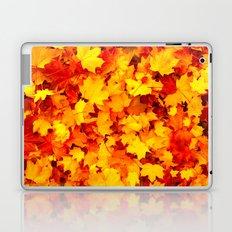 Maple Leaves Laptop & iPad Skin