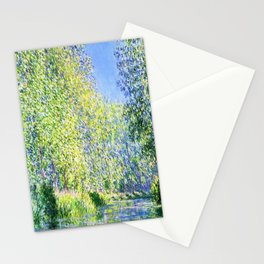 Monet: Bend in the River Epte Stationery Cards