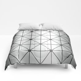 Silver Diamond Comforters
