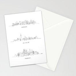 Pittsburgh, New York City, Philadelphia Stationery Cards
