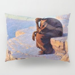 The Great Spirit - Grand Canyon by William R. Leigh Pillow Sham
