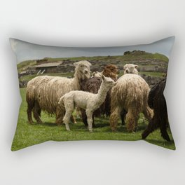 Llamita del Norte Rectangular Pillow