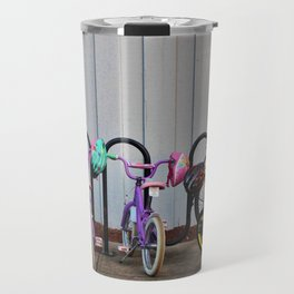 Family Bicycles Travel Mug