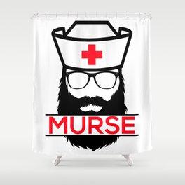 Murse Male Nurse Hospital Health Care Shower Curtain