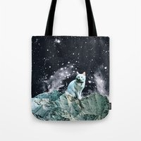 wizard Tote Bags featuring WIZARD by Beth Hoeckel