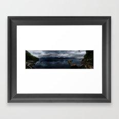Lake Quinalt Framed Art Print