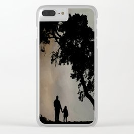 Grandpa Tell Me About The Good Old Days Clear iPhone Case