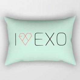 I LOVE EXO Rectangular Pillow