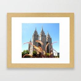 Salt Lake Temple Framed Art Print