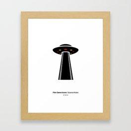 Science-fiction Film Genre Icon Framed Art Print