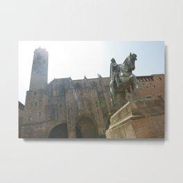 Barcelona Fortress Metal Print