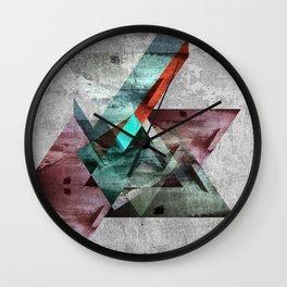 Abstract composition II Wall Clock