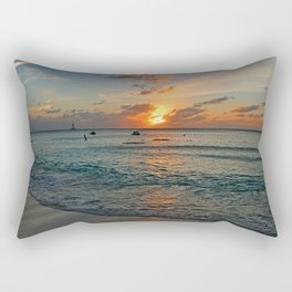 Even in Darkness Rectangular Pillow