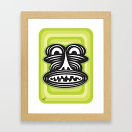 dimples Framed Art Print