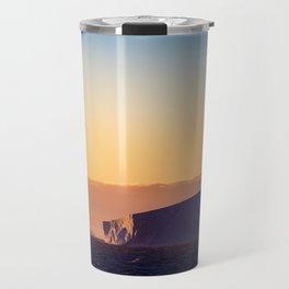 Sunset Iceberg Travel Mug
