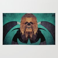 chewbacca Area & Throw Rugs featuring Chewbacca by lazylaves