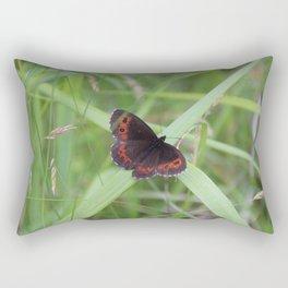 Arran Brown butterfly Rectangular Pillow