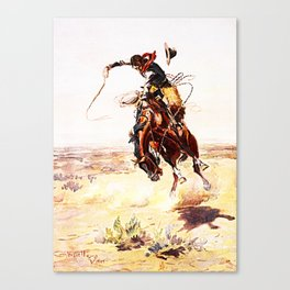 A Bad Hoss Canvas Print
