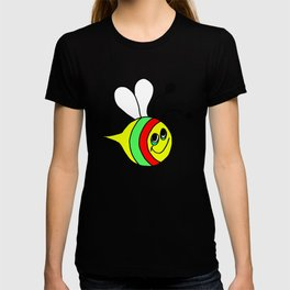 Drawn by hand a colorfull bee for children and adults T-shirt
