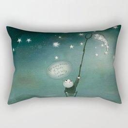 I will bring a star Rectangular Pillow