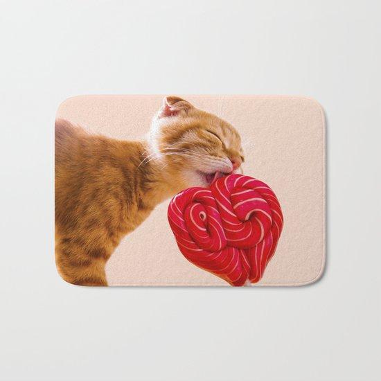 candy cat Bath Mat