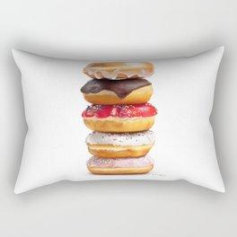 looks yummy, donut ? by dana alfonso Rectangular Pillow