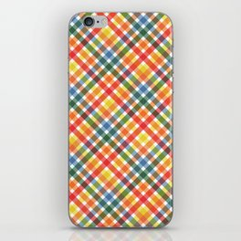 BP 39 Gingham iPhone Skin