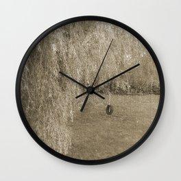 Vintage Tire Swing Wall Clock