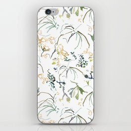 green collection I iPhone Skin