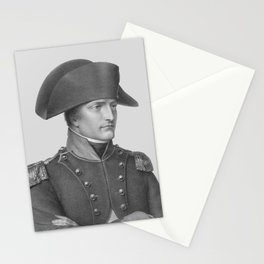 Napoleon Bonaparte In Uniform Stationery Cards
