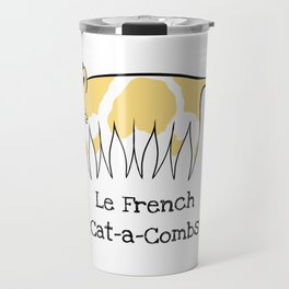 Le French Cat-a-Combs Travel Mug