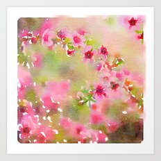 Pretty and Pink Art Print