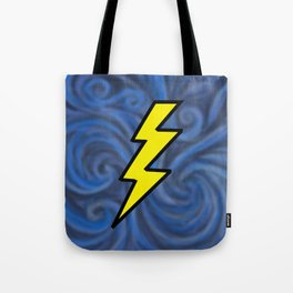 Lightning Swirl Tote Bag