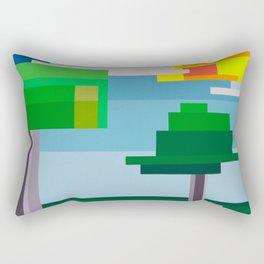 """""""Moment #12"""" Montana Gold Spray Paint on Birch Panel 10″ x 10″ x 1.5"""" Rectangular Pillow"""