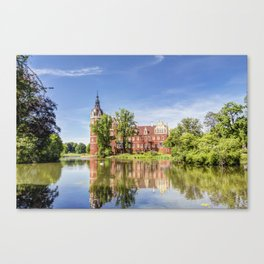 Muskau Park and Muskau Palace Canvas Print
