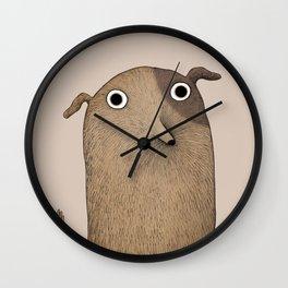 Wuf Wall Clock