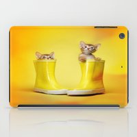 kittens iPad Cases featuring KITTENS by I Love Decor