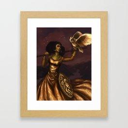 Goddess of Wisdom Framed Art Print